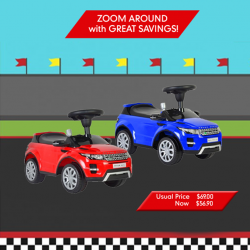 [Mothercare] Look cool and drive like a boss with Best Ride On Car!
