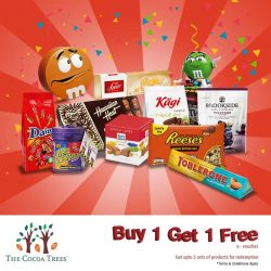 [The Cocoa Trees] Existing and new members receive  Buy 1  Get 1 Free with 1-for-1 e-voucher for limited time only (