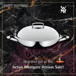 [WMF] Be fully prepared for the festival of lights with our range of versatile products – available at our atrium sale at