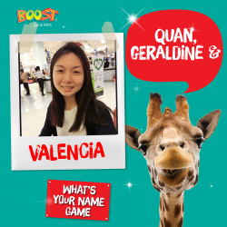 [Boost Juice Bars Singapore] Final week for our yearly What's Your Name Game!