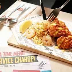 [The Manhattan FISH MARKET Singapore] Get cheeky and sneak out of work to tuck into Chicky Prawnstar for only $8.