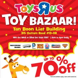 [Babies'R'Us] Join us at the Tan Boon Liat building this 18 (Wed) to 22 Oct (Sun) to get special deals of