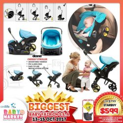 [Jarrons & Co.] No need for further introduction, get your Doona Infant Carseat Stroller before you miss this unbeatable deal!