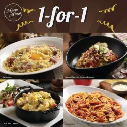 [Miam Miam French.Japanese Cafe.Kitchen] EXCLUSIVE 1-for-1 DEAL