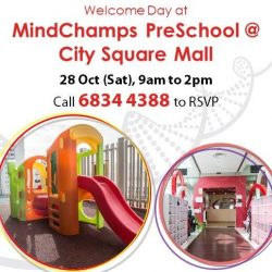 [MindChamps Medical] Enjoy 10% savings of school fees for 9 months* when you enroll your child at MindChamps PreSchool @ City Square Mall!