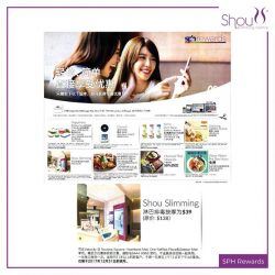 [Shou Slimming Centre] Don't miss out this awesome deal from SPH Rewards!