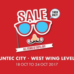 [Owndays Singapore] We're holding a flash sale at Suntec City (West Wing Level 1 Event Space).
