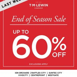 [T. M. Lewin] Our End of Season Sale is ending soon.