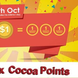 [The Cocoa Trees] Don't worry if you have you not earned enough cocoa points to redeem them.