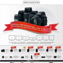 [FUJIFILM] We have decided to introduce more cash back for this Season of Gifting !