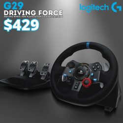 [TOG] Logitech Driving Force Racing wheel for Playstation 3 & Playstation 4.