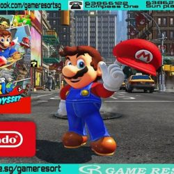 [GAME RESORT] Switch Super Mario Odyssey,New Evolution of Mario Sandbox-Style GameplayMario embarks on a new journey through unknown worlds,
