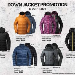 [The North Face] Flash Winter Promotion Alert!