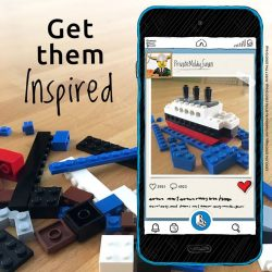 [LEGO] Encourage a dose of everyday creativity with LEGO bricks and the LEGO Life app.