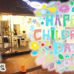 [Gobi Desserts] Happy Childrens Day.