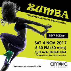 [Amore Fitness] Mark your calendar!