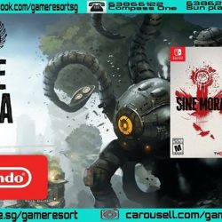 [GAME RESORT] NSW Sine Mora EX,Sine Mora EX is a side-scrolling shoot'em up that provides a unique challenge, where