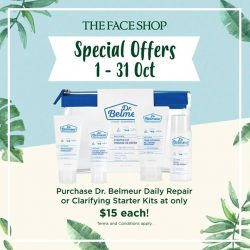 [THE FACE SHOP Singapore] Check out some of THEFACESHOP Special Offers in the month of October!