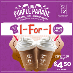 [Ya Kun Kaya Toast] We are excited to be part of the PurpleParade!