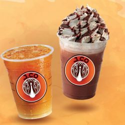 [J.Co Donuts & Coffee] Will you be dropping by for our anniversary drink promotion on 1st and 2nd Nov 2017?