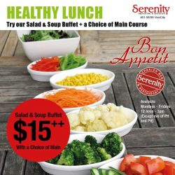 [Serenity Spanish Restaurant] Looking for a meal that is worth for value during lunch hours?