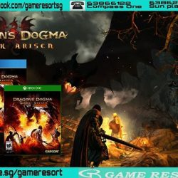 [GAME RESORT] PS4|XB1 Dragon's Dogma Dark Arisen,Set in a huge open world, Dragon's Dogma: Dark Arisen presents a