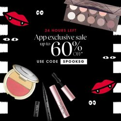 [SEPHORA Singapore] One day left to shop our spook-tastic Halloween Frenzy sale!