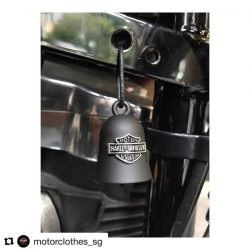 [Harley-Davidson] Repost @motorclothes_sg (@get_repost) ・・・ Ride bells, also known as biker bells or guardian bells, are a powerful symbol of friendship and