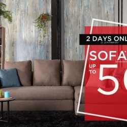[Cellini] 50% OFF YOUR SOFA - 2 DAYS ONLY Don't miss out!
