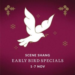 [SCENE SHANG] Don't wait till December to shop for your Christmas gifts.