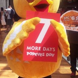 [Popeyes Louisiana Kitchen Singapore] Popeyes Day is coming in one week's time!