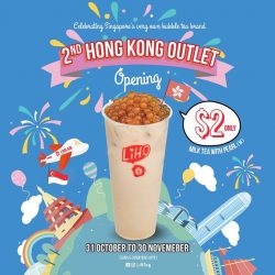 [Gong Cha Singapore] Thank you thank you for the overwhelming response on our $2 Milk Tea with Pearls!