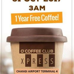 [O' Coffee Club] Excited about the official opening of Terminal 4?