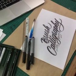 [Graf von Faber Castell] If you've been sitting on the fence about learning brush calligraphy, this is the best chance to join our