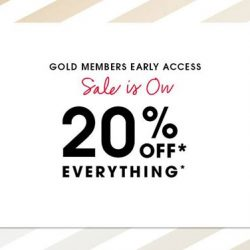 [SEPHORA Singapore] Sephora Gold Members, your SALE is now LIVE both online and in stores!