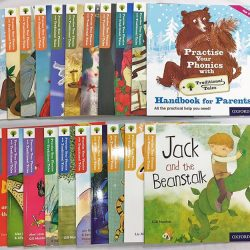 [Junior Page] Practise Your Phonics with Traditional Tales - 21 Books$134.