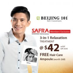 [Beijing 101] Share SAFRA perks with your friends and family especially when it's Beijing 101 deal!