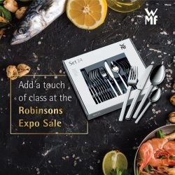 [WMF] A clear-cut of beauty and quality at our Robinsons Expo Sale happening from 5th – 15th Oct!