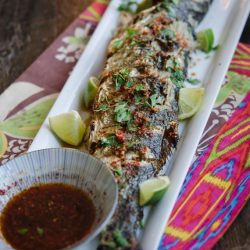 [THE SEAFOOD MARKET PLACE BY SONG FISH] Grilled Fish with Soy Lime Chili SauceFreshness is the key here.