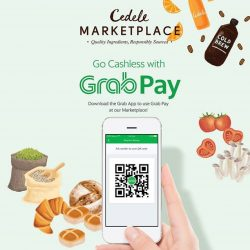 [Cedele] This year Marketplace, We are going cashless with GrabPay!