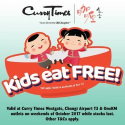 [Curry Times] KIDS EAT FREE!