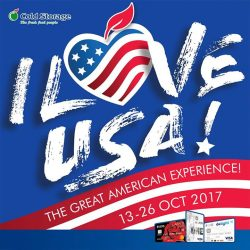 [UOB ATM] Experience the best of USA at the Cold Storage USA Fair!