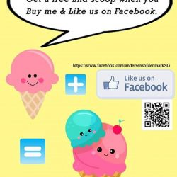 [Andersen's of Denmark Ice-Cream Singapore] Our Facebook Exclusive Promotion is back!