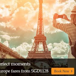 Singapore Airlines: Explore Europe This Year End with Amazing Fares from SGD1128
