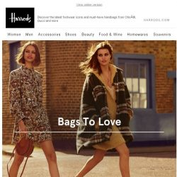 [Harrods] Bags & Shoes To Love…