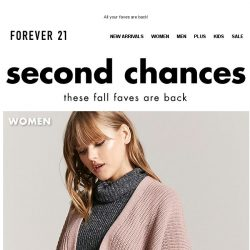 [FOREVER 21] We Missed You ❤