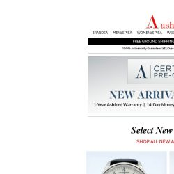 [Ashford] Certified Pre-Owned Watches with Timeless Appeal