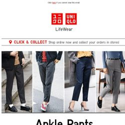 [UNIQLO Singapore] Trends not to be missed!