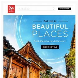 [Kaligo] , earn up to 12,800 Miles when visiting these beautiful places!