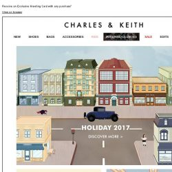 [Charles & Keith] CHARLES & KEITH | Holiday Exclusive